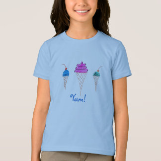 Yum Series Ice Cream Design 1 T-Shirt