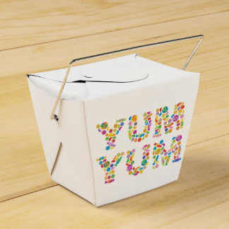 Yum Yum Candy Sweets Favour Box