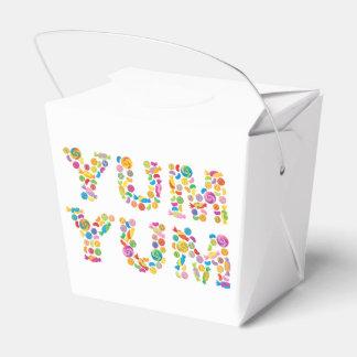 Yum Yum Candy Sweets Wedding Favour Box