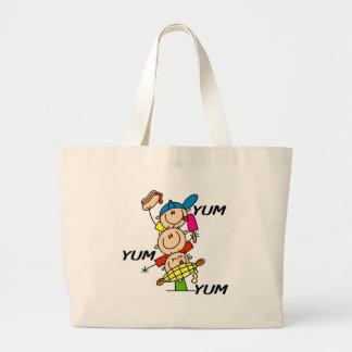 Yum Yum Summer Canvas Bag