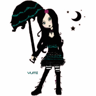 Yumi Gothic Lolita Photo Sculpture