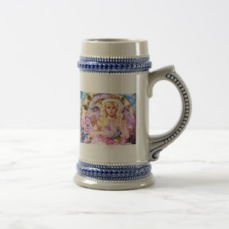 yumi sugai  angels beer stein