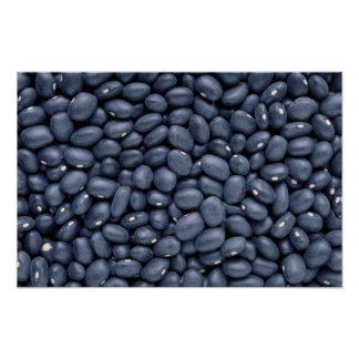 Yummy Black beans Poster