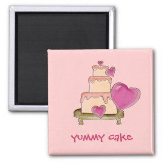 Yummy Cake Magnet
