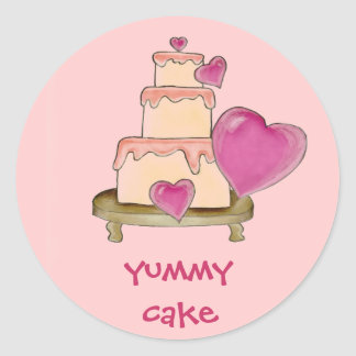 Yummy Cake Stickers