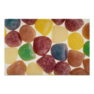Yummy Candy Poster