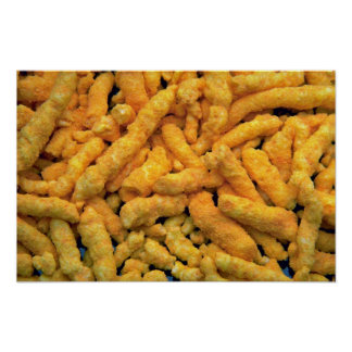 Yummy Cheese crunchies Poster