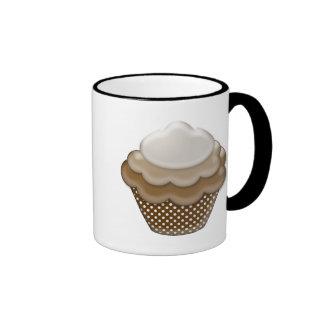 yummy chocolate cupcake ringer mug