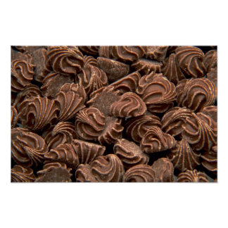 Yummy Chocolate rosebuds Posters