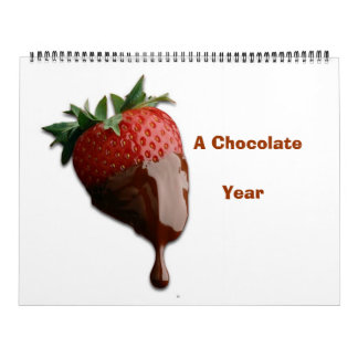 YUMMY CHOCOLATE  YEAR CALENDA WALL CALENDARS