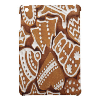 Yummy Christmas Holiday Gingerbread Cookies iPad Mini Cover