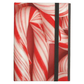 Yummy Christmas Holiday Peppermint Candy Canes Cover For iPad Air