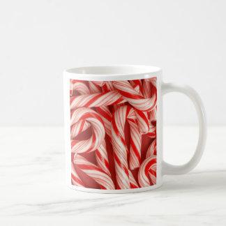Yummy Christmas Holiday Peppermint Candy Canes Mug