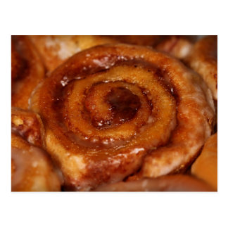 Yummy Cinnamon Roll Sticky Buns Bake Sale Postcard