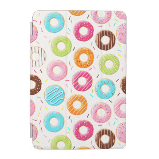 Yummy colorful sprinkles donuts toppings pattern iPad mini cover