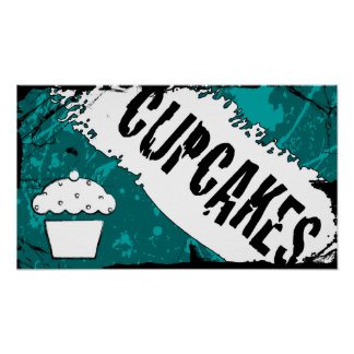 yummy crumbs cupcakes poster