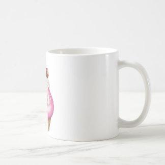 Yummy cupcake basic white mug