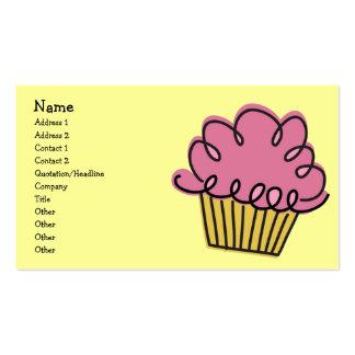 Yummy Cupcake Business Card