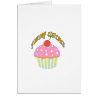 Yummy Cupcake Cards