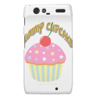 Yummy Cupcake Droid RAZR Cases