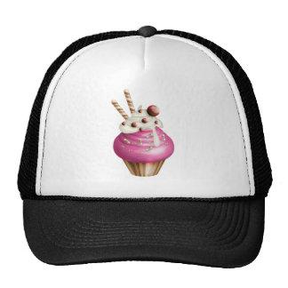 Yummy cupcake mesh hat