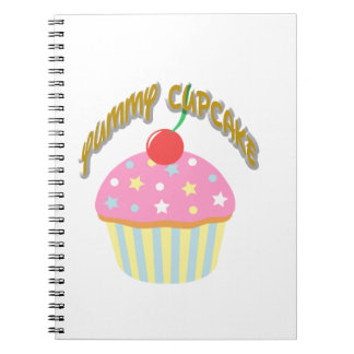 Yummy Cupcake Notebooks