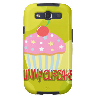 Yummy Cupcake Sweet Yellow Color Samsung Galaxy SIII Cover