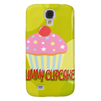 Yummy Cupcake Sweet Yellow Color Samsung Galaxy S4 Cases