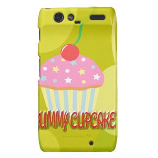 Yummy Cupcake Sweet Yellow Color Motorola Droid RAZR Cover
