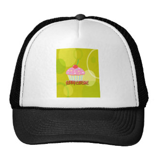 Yummy Cupcake Sweet Yellow Color Hat