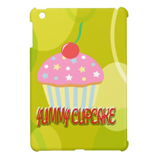 Yummy Cupcake Sweet Yellow Color Cover For The iPad Mini
