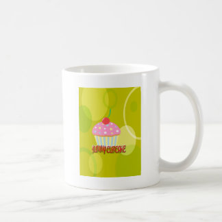 Yummy Cupcake Sweet Yellow Color Coffee Mugs