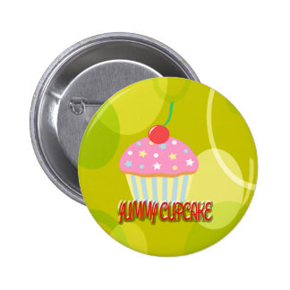 Yummy Cupcake Sweet Yellow Colour Pins