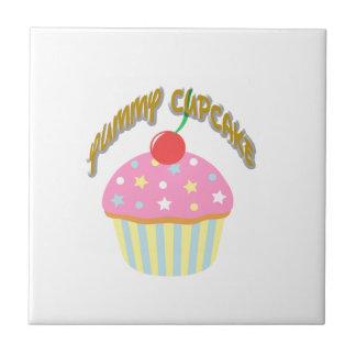 Yummy Cupcake Ceramic Tiles