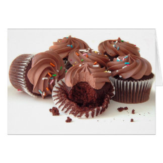 YUMMY CUPCAKES GREETING CARDS