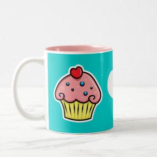 Yummy Cupcakes Two-Tone Mug
