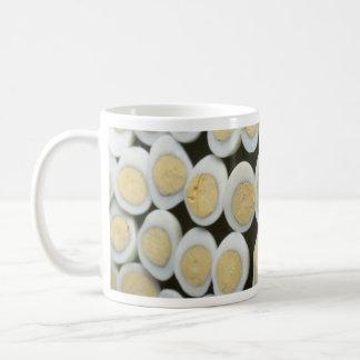 Yummy Decoration with halved hard-boiled eggs Coffee Mug