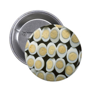 Yummy Decoration with halved hard-boiled eggs Pins