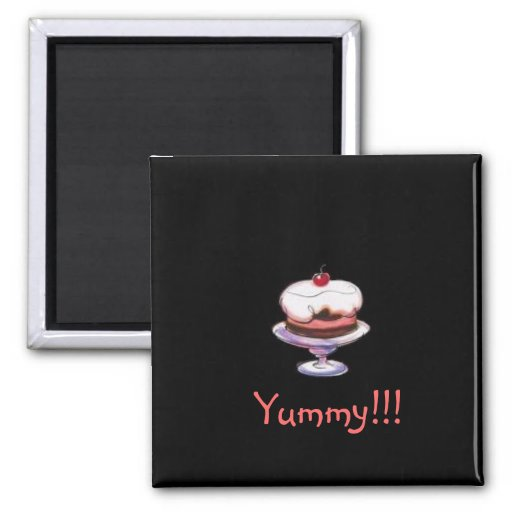 Yummy Dessert Magnet