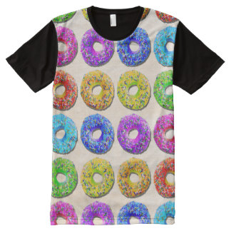 Yummy donuts pattern All-Over print T-Shirt