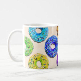 Yummy donuts pattern coffee mug
