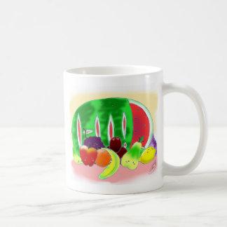 Yummy Fruit Basic White Mug