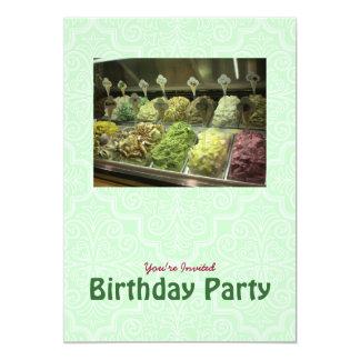Yummy Gelato Birthday Invitation