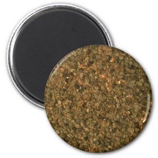 Yummy Granola 6 Cm Round Magnet
