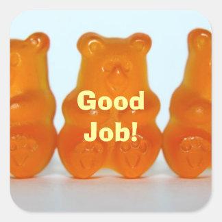 Yummy Gummy Good Job Stickers