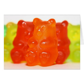 Yummy Gummy Have A Sweet Day Card