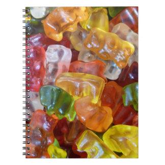 Yummy gummy notebook