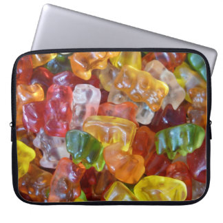 Yummy gummy sleeve laptop computer sleeves
