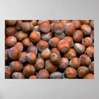 Yummy Hazelnuts Posters