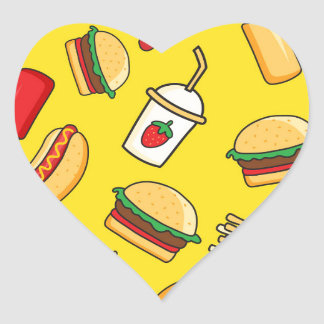 Yummy! Heart Sticker